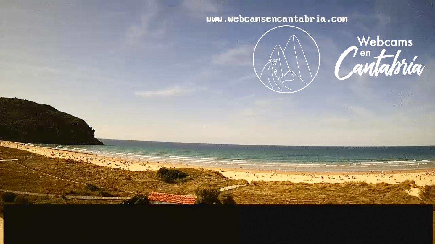 Playa de Berria en Santoña, Cantabria