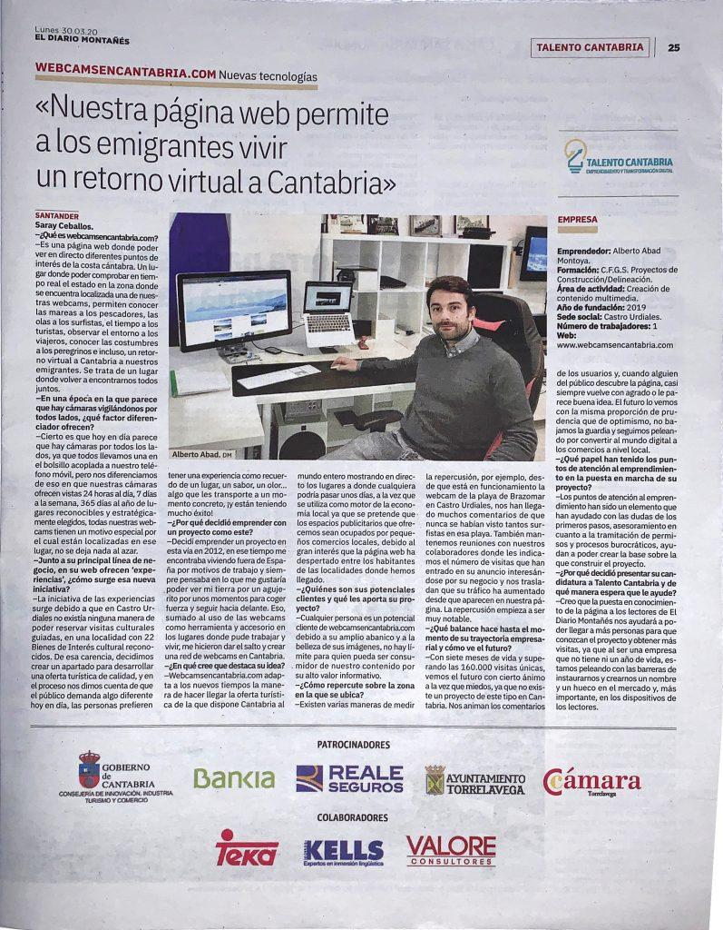 entrevista El Diario Montañes
